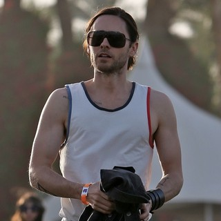 Jared Leto, 30 Seconds to Mars in The 2013 Coachella Valley Music and Arts Festival - Week 1 Day 3