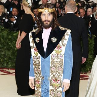 Jared Leto, 30 Seconds to Mars in The 2018 Costume Institute's MET Gala Benefit - Red Carpet Arrivals