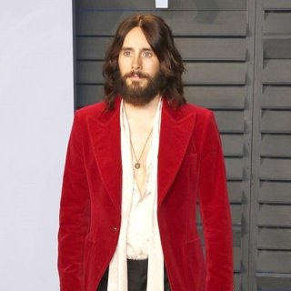 Jared Leto, 30 Seconds to Mars in 2018 Vanity Fair Oscar Party - Arrivals