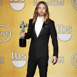 30 Seconds to Mars - The 20th Annual Screen Actors Guild Awards - Press Room