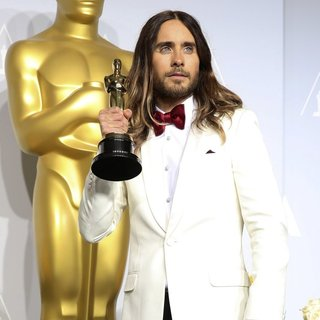 Jared Leto, 30 Seconds to Mars in The 86th Annual Oscars - Red Carpet Arrivals