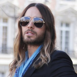 Jared Leto - Paris Fashion Week Autumn-Winter 2014 - Miu Miu - Outside Arrivals
