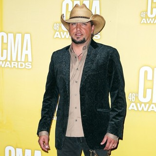 Jason Aldean in 46th Annual CMA Awards