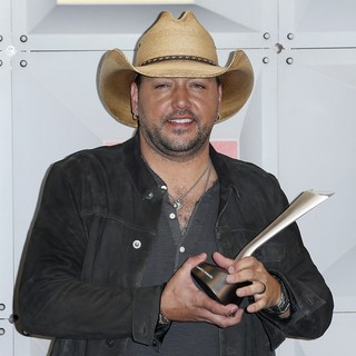 Jason Aldean - The 51st Academy of Country Music Awards - Press Room