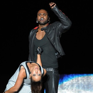 Jason Derulo Performs During The Black Eyed Peas Final Concert of The Year