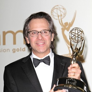 Jason Katims in The 63rd Primetime Emmy Awards - Press Room