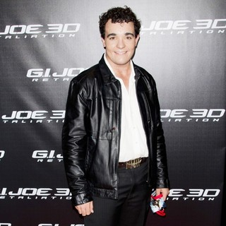 Jason Owen in G.I. Joe: Retaliation - Sydney Premiere