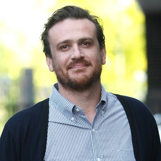Jason Segel in Jason Segel Leaves The ITV Studios After Appearing on Daybreak