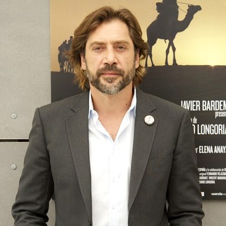 Javier Bardem in The Photocall of Sons of the Clouds