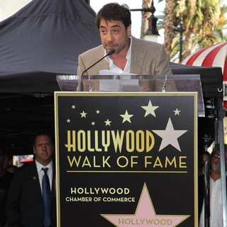 Javier Bardem Is Honored with A Hollywood Star on The Hollywood Walk of Fame
