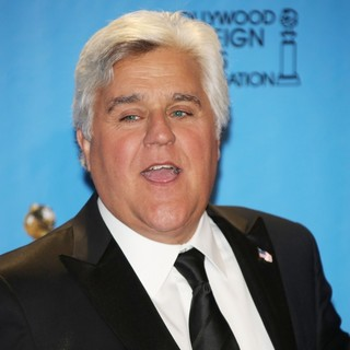 Jay Leno in 70th Annual Golden Globe Awards - Press Room