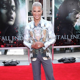 Jay Manuel in New York Premiere of Harry Potter and the Deathly Hallows Part II - Arrivals