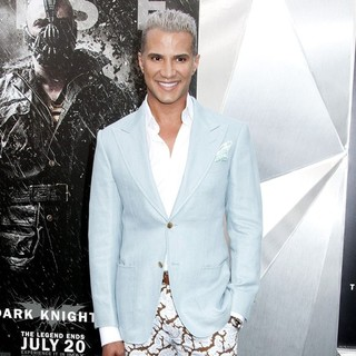 Jay Manuel in The Dark Knight Rises New York Premiere - Arrivals
