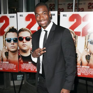 Jay Pharoah in New York Premiere of 22 Jump Street
