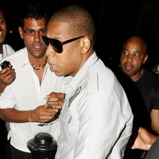 Jay-Z - Celebrities Arrive at O2 Shepherds Bush Empire Ahead of Beyonce's New Album Launch and Performance