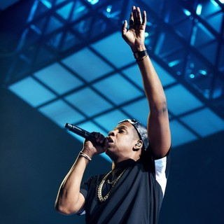 Jay-Z in Jay-Z Perfoming in Concert on The Magna Carter Tour