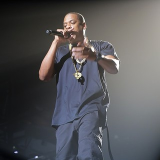 Jay-Z in Jay-Z Performing Live in Concert on The Opening Night of The UK Leg of The Magna Carter World Tour
