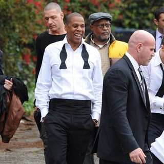 Jay-Z in Suit and Tie Set Music Video