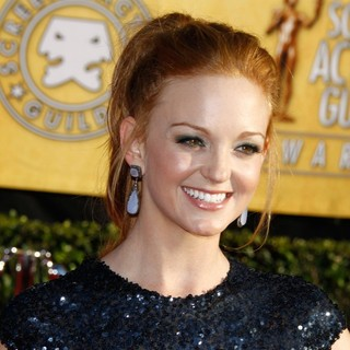 Jayma Mays in The 18th Annual Screen Actors Guild Awards - Arrivals