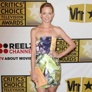 Jayma Mays in The 2011 Critics Choice Television Awards Luncheon - Red Carpet