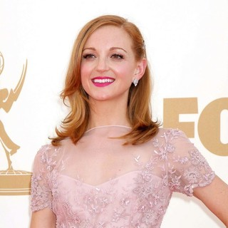 Jayma Mays in The 63rd Primetime Emmy Awards - Arrivals