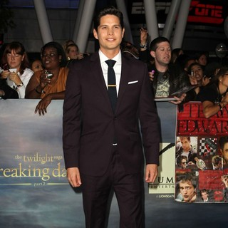 JD Pardo in The Premiere of The Twilight Saga's Breaking Dawn Part II