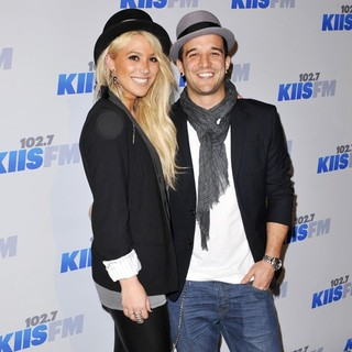 BC Jean, Mark Ballas in KIIS FM's 2012 Jingle Ball - Night 2 - Arrivals