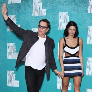 Jean-Claude Van Damme in 2012 MTV Movie Awards - Press Room