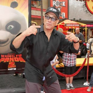 Jean-Claude Van Damme in Los Angeles Premiere of Kung Fu Panda 2