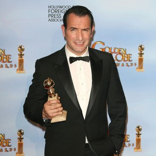 Jean Dujardin in The 69th Annual Golden Globe Awards - Press Room