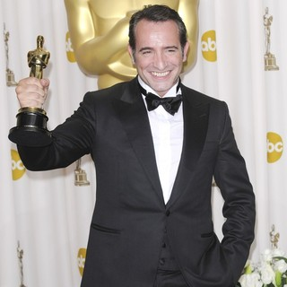 Jean Dujardin in 84th Annual Academy Awards - Press Room