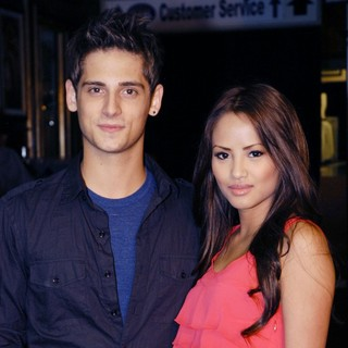 Jean-Luc Bilodeau in Radio Disney Stars Savvy and Mandy's Video Release Party and Live Performance