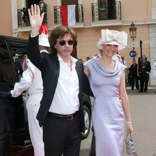 Jean Michel Jarre in Religious Ceremony of The Royal Wedding of Prince Albert II of Monaco to Charlene Wittstock