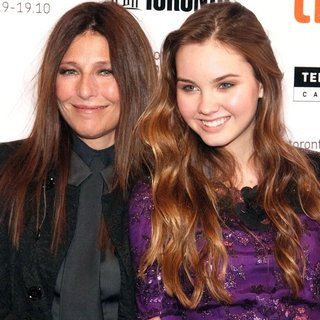 Catherine Keener, Liana Liberato in The 35th Toronto International Film Festival - Trust Premiere Arrivals