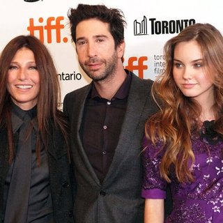 Catherine Keener, David Schwimmer, Liana Liberato in The 35th Toronto International Film Festival - Trust Premiere Arrivals