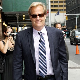 Jeff Daniels in The Late Show with David Letterman - Arrivals