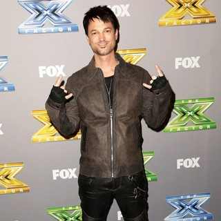 Jeff Gutt in The X Factor Season 3 Finale - Arrivals