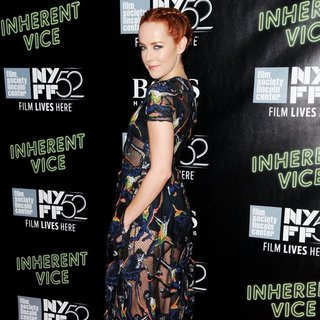 52nd New York Film Festival - Inherent Vice - Premiere - Red Carpet Arrivals