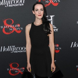 Jena Malone in The Hollywood Reporter and The History Channel Screening of Hatfields and McCoys - jena-malone-screening-hatfields-and-mccoys-01