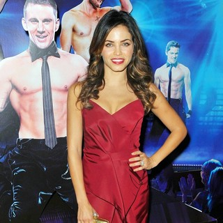 Jenna Dewan in Magic Mike European Premiere