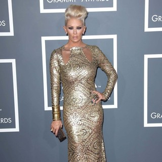 Jenna Jameson in 55th Annual GRAMMY Awards - Arrivals