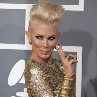Jenna Jameson in 55th Annual GRAMMY Awards - Arrivals - jenna-jameson-55th-annual-grammy-awards-02