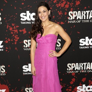 Jenna Lind in U.S. Premiere Screening of Spartacus: War of the Damned