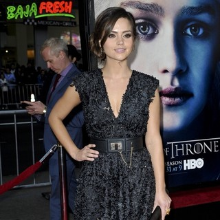 Jenna-Louise Coleman in Premiere of The Third Season of HBO's Series Game of Thrones - Arrivals