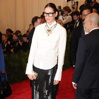 Jenna Lyons in PUNK: Chaos to Couture Costume Institute Gala