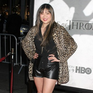 Jenna Ushkowitz in Premiere of The Third Season of HBO's Series Game of Thrones - Arrivals
