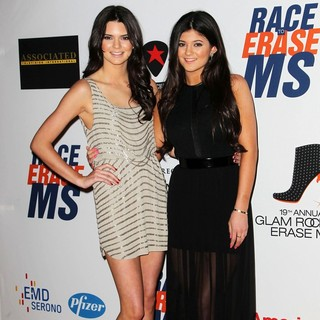 Kendall Jenner, Kylie Jenner in 19th Annual Race to Erase MS
