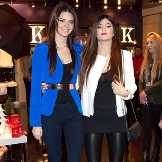 Kendall Jenner and Kylie Jenner Appear at Kardashian Khaos