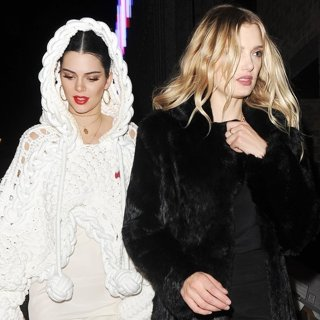Kendall Jenner Enjoys A Night Out with Lily Donaldson