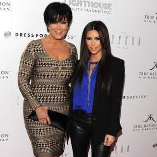 Kris Jenner, Kim Kardashian in True Reflection Fragrance Launch